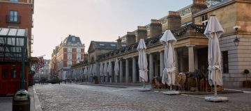 London Streets Empty During Third Coronavirus Lockdown