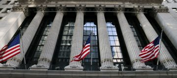 US markets: Wall St surges to a record and FTSE starts the week on a high