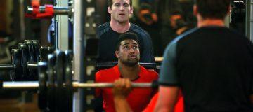 New Zealand All Blacks Gym Session