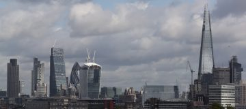 Skyscrapers Dominate the London Skyline