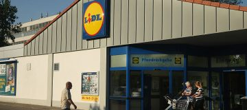 Lidl supermarket bomb