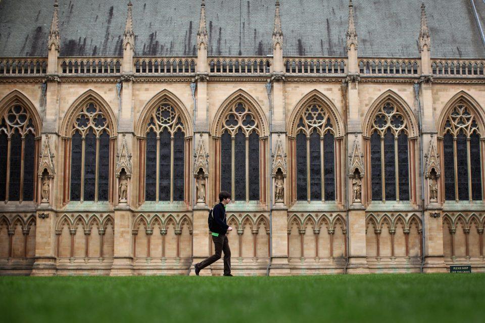 The Famous University Town Of Cambridge