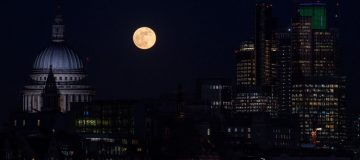 The January Blue Supermoon Is Visible In The UK