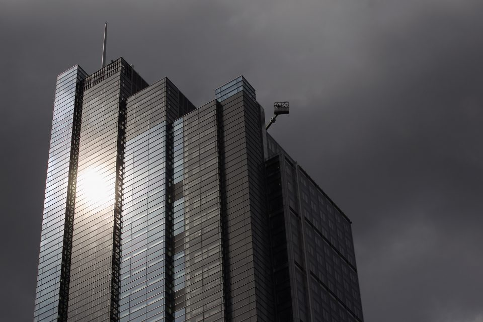 Views of High Rise Buildings in Central London