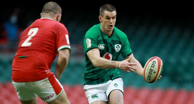 Ireland fly-half Johnny Sexton was forced off the field in their Six Nations match against Wales earlier this month after a blow to the head