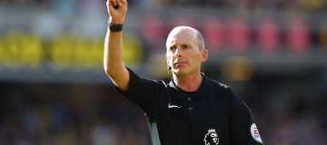 Referee Mike Dean has been among the football figures targeted on social media platforms