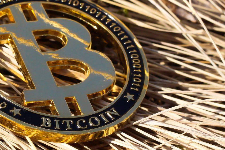 Bitcoin on straw