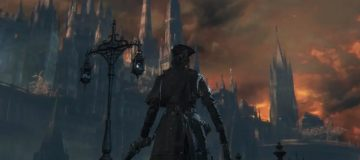 The city of Yharnam, the setting of gothi9c horror game Bloodborne