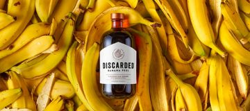 Discarded makes spirits from banana peels