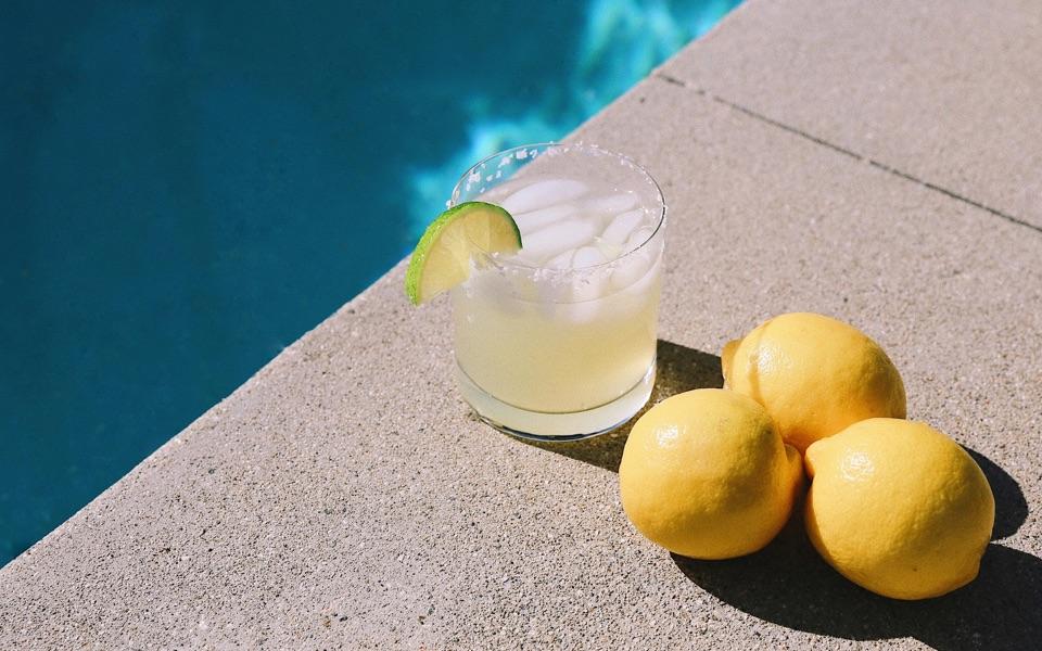 A Margarita shaken by The Bottle Club