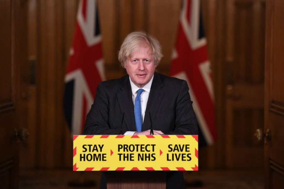 Prime Minister Holds Covid-19 Press Conference As Phase One Of UK Vaccine Roll Out Is Completed