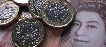 Sterling reached a 10-month high against the euro following encouraging data from Britain's vaccination program.
