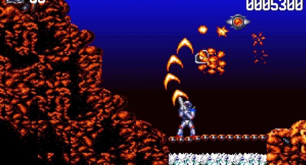 Turrican Flashback is a nostalgic paradise of synths and bullets
