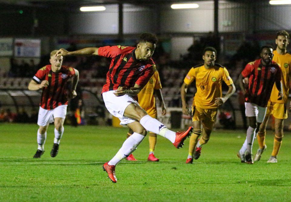 Lewes FC's men's team play in the Isthmian League, the seventh tier, but have not had a fixture for several months due to the pandemic