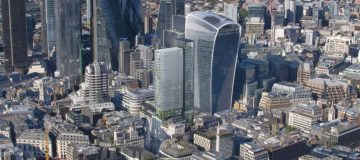 City office floorspace surges as developers back the Square Mile's future