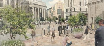 City Corporation launches consultation on a safer, greener Bank Junction
