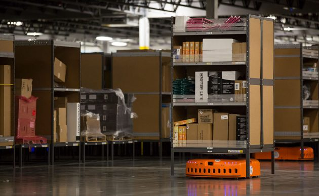 Amazon Opens Fulfillment Center In DuPont, Washington
