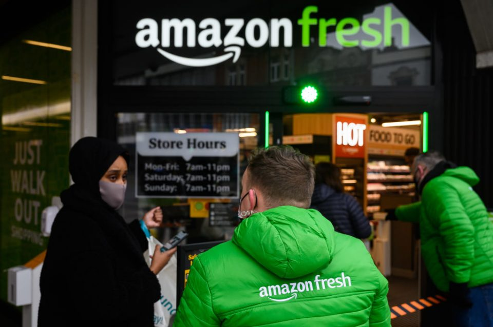 Amazon Opens Till-Less Grocery Store In London