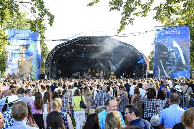 Racecourses have tried staging concerts after race days to attract younger crowds