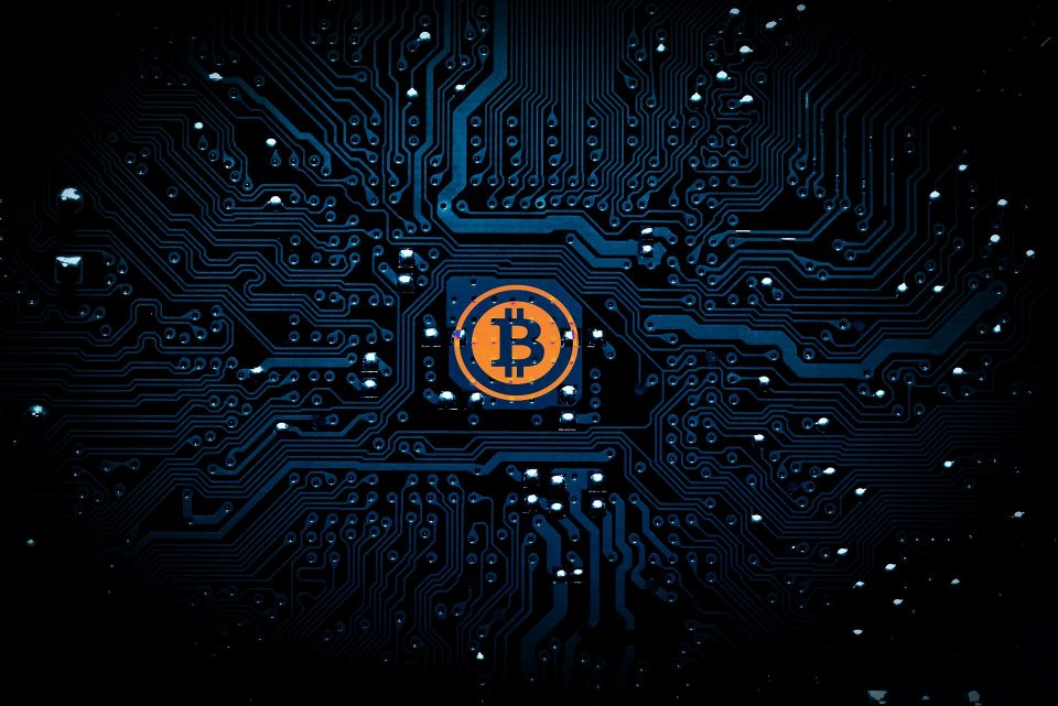 Bitcoin on a motherboard