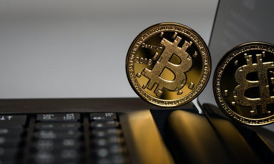Bitcoin on keyboard - photo by Aleksi Räisä on Unsplash