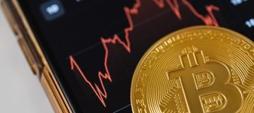 Bitcoin red chart