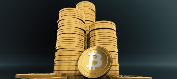 Bitcoin stack - Image by 3D Animation Production Company from Pixabay