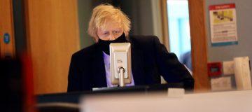 Boris Johnson Visits Northern Ireland