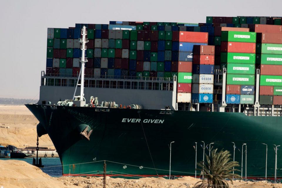 Container Ship 'Ever Given' Refloated, Unblocking Suez Canal