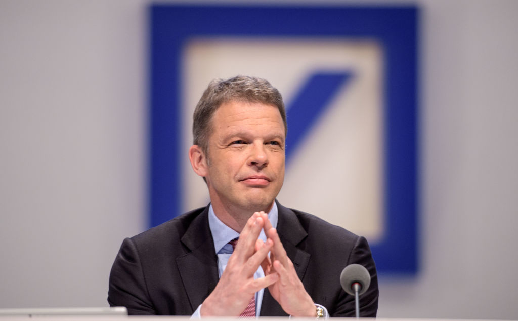Deutsche Bank boosts CEO pay by 46 per cent following return to profit – CityAM