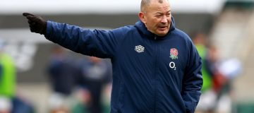 Eddie Jones has a good record with England but his side will finish fifth in the Six Nations