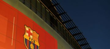 The offices of FC Barcelona at their stadium, Camp Nou, were visited by Catalan police today