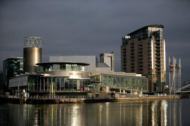 General Views Of Media City Salford