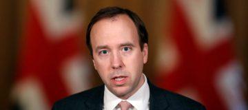 Health Secretary Matt Hancock Leads Downing Street Briefing