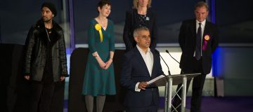 London Mayoral Election Count