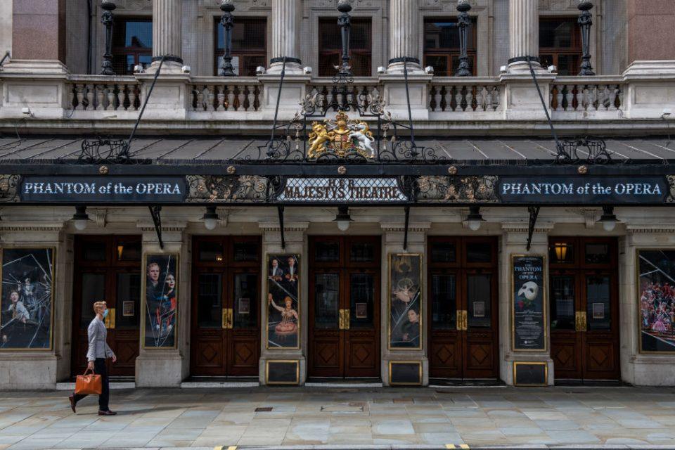 Long-running Theatre Production Of Phantom Of The Opera Announces Closure Due To Coronavirus