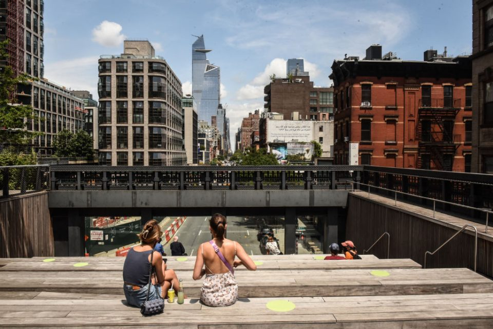 Manhattan's famed High Line Reopens To The Public