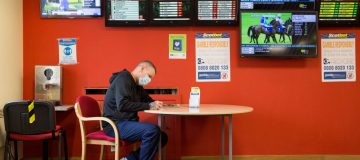 Scotland's Betting Shops And Beauty Salons Reopen With Fewer Restrictions To The Public