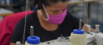Textile Factory Turns To Produce Face Masks To Aid People Amid Coronavirus Spread In Argentina