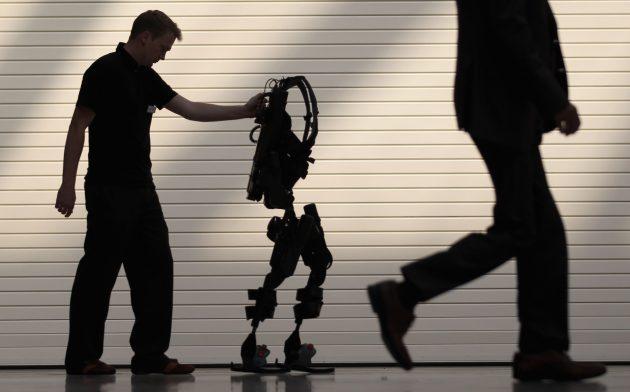 The Launch Of Bionic Exoskeleton Ekso