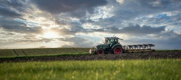 Tractor ploughing field - image by Franz Bachinger from Pixabay