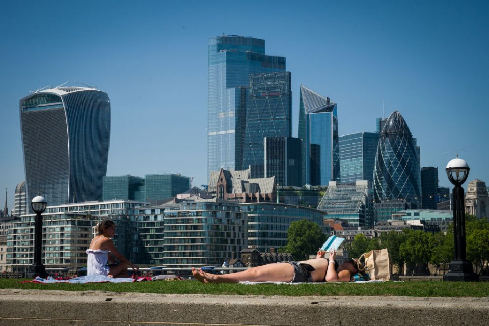 UK Experiences Summer Heatwave