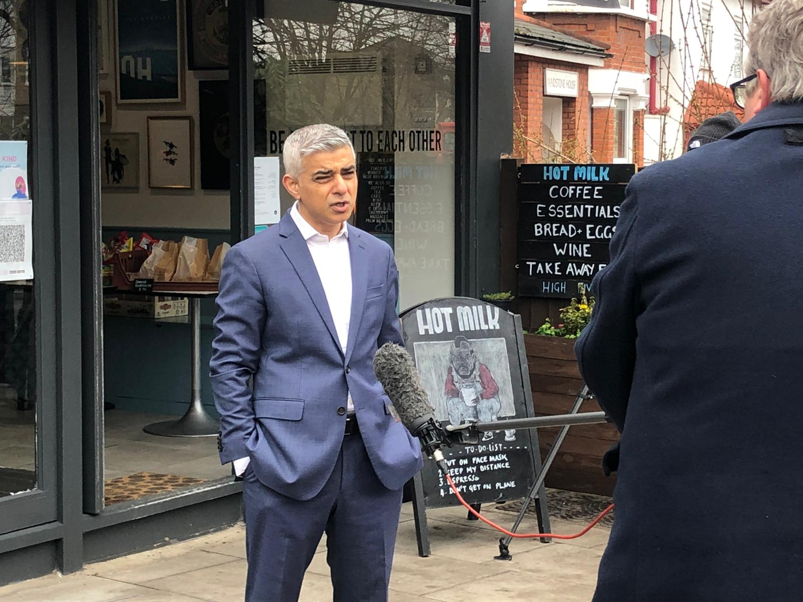 Sadiq Khan rules out driverless trains as a part of next TfL bailout