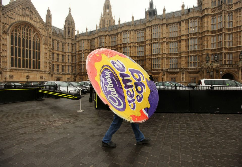 Workers From Cadbury Hold Parliament Protest Over Takeover Bids