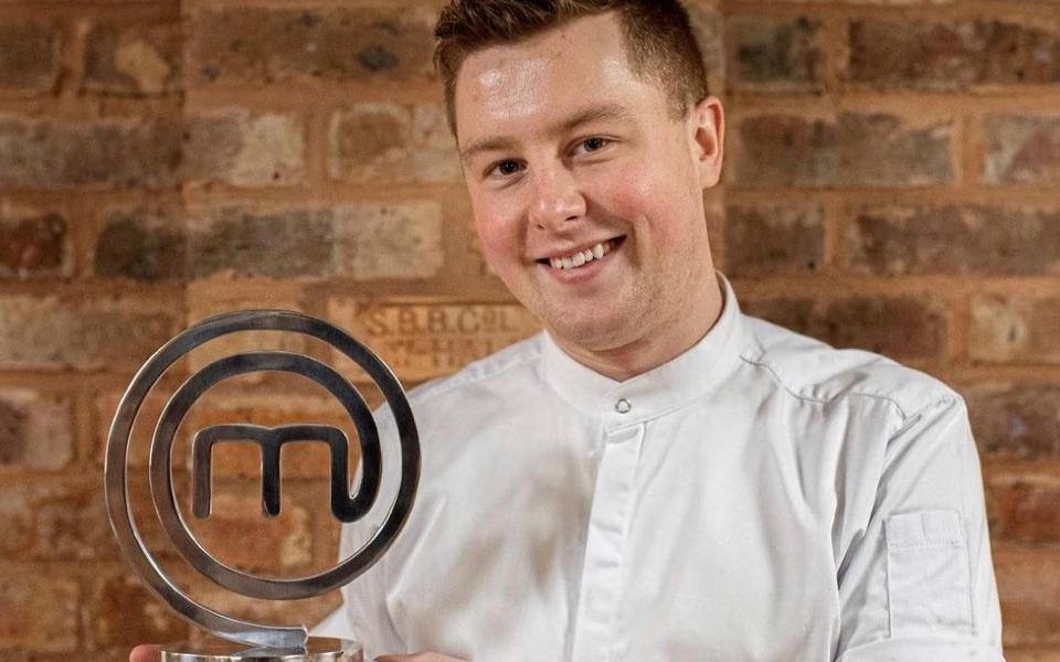 Alex Webb, winner of MasterChef: The Professionals