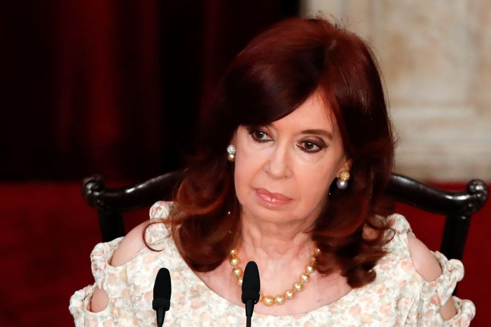Argentina will not be able to pay back its $45bn debt to the International Monetary Fund (IMF), Vice President Cristina Fernandez de Kirchner has said.