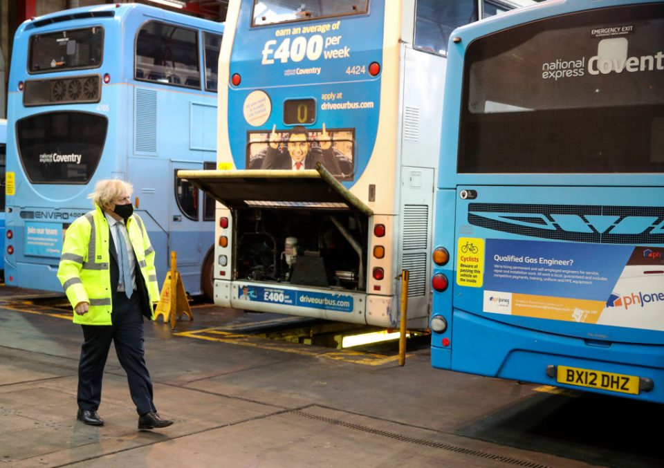 Coach firm National Express this morning reported a £381.4m operating loss for 2020 as the pandemic drove its vehicles off the road for months at a time.