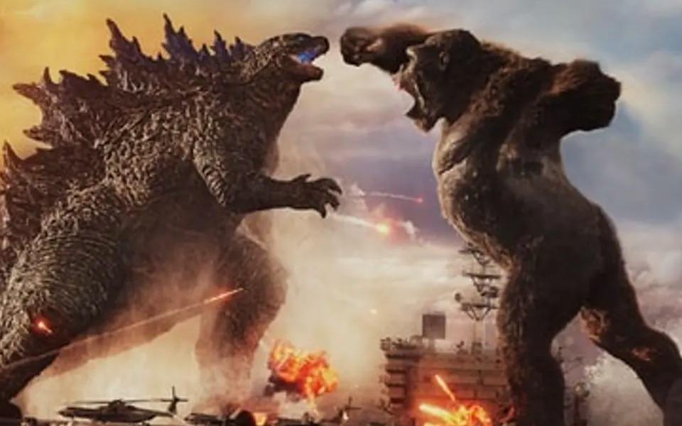 Godzilla vs Kong fight