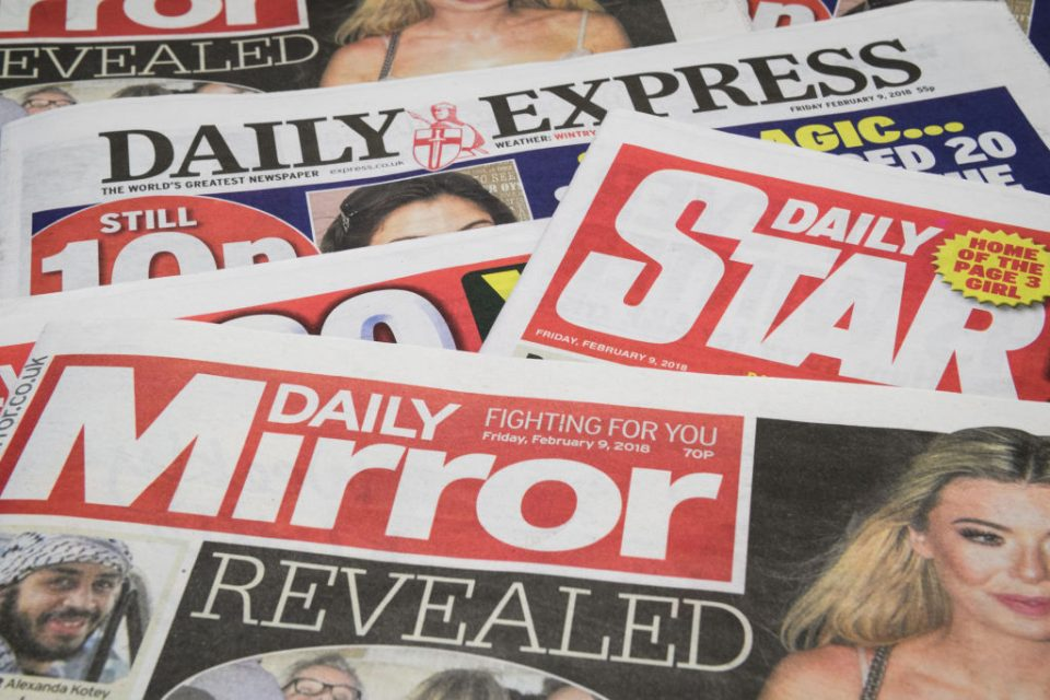 Reach today posted a 12.8 per cent fall in profit as the newspaper publisher reported a stronger second half of the year.