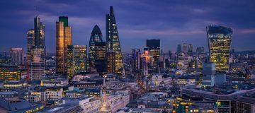 city of london, uk trade, export, financial professional services